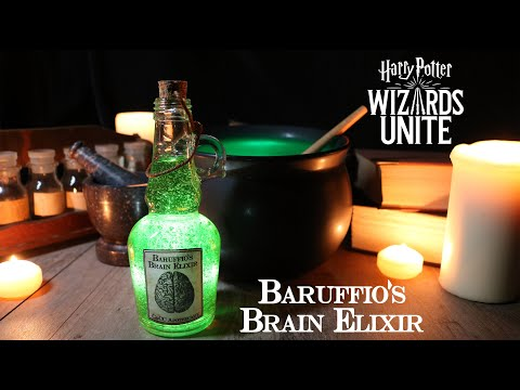 Baruffio's Brain Elixir : Harry Potter Potions : DIY Prop Bottle : Harry Potter Wizard's Unite