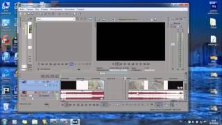 Sony Vegas Pro 13 - как просто вырезать кусок видео
