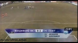 Русенборг 0-2 Зенит. Кубок УЕФА 2005/2006