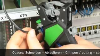 HAUPA Quadro Crimping + Stripping plier for ferrules 210682/1(, 2012-04-04T15:06:39.000Z)