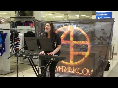 Aly Frank singing The Weeknd