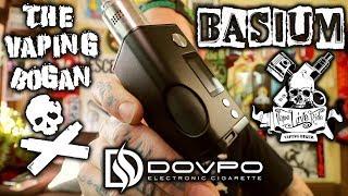 Basium BF Mod | Vaping Biker X Dovpo | This Or The Rage? | The Vaping Bogan