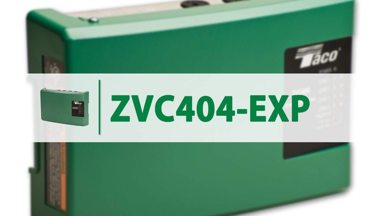 small resolution of taco zone valve controls zvc404 exp
