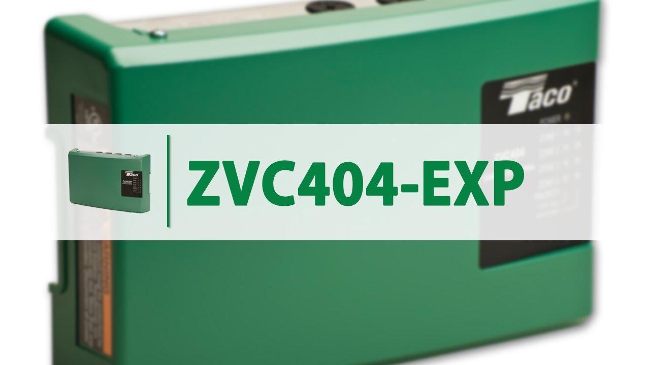 Taco Zone Valve Controls Zvc404 Exp Youtube Wiring Installation