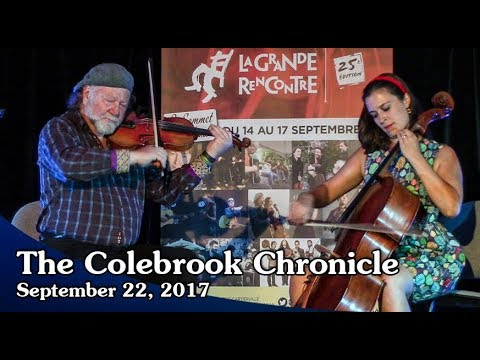Colebrook Chronicle - September 22 2017 Video News of the Week