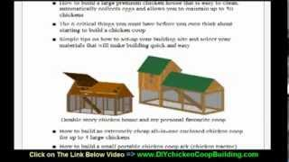 ★ How To Build Chicken Coop Plans