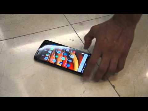 Moto X Force - Prueba De Caída En Perú Del Smartphone Con Pantalla