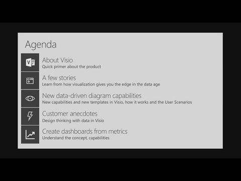 Dive into data visualization with Microsoft Visio - BRK3024