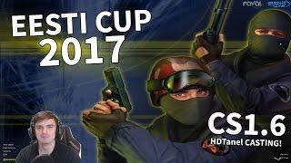 Eesti CUP 2017 CS1.6 FINAAL - 1HUNNID vs [E]esti Laskurid mis mun koirat on