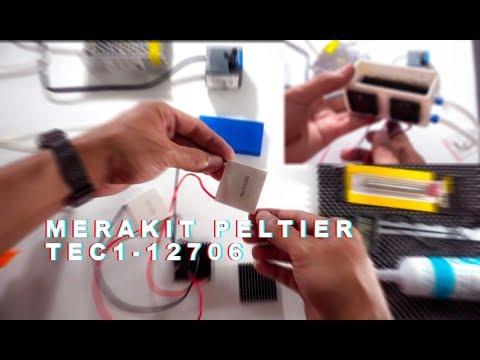 Membuat Pendingin Sederhana Dengan PELTIER Untuk Fungsi Sejenis Kulkas Mini, AC Mini, Dispenser, Dll