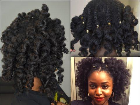 flat twists & big fluffy hair LENGTH CHECK ON 4C HAIR ft taliah waajid & creme of nature