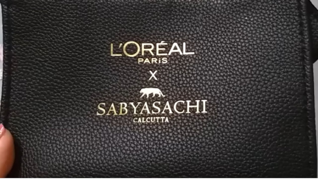 LOREAL PARIS SABYASACHI COLLECTION 2018 || ROSE NUANCE KIT REVIEW ...