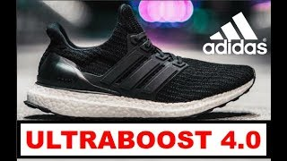 "Adidas ULTRABOOST 4.0 ""CORE BLACK"" - Unboxing & Review + ON FEET"