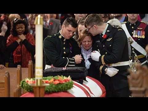 Moments from Cpl. Nathan Cirillo funeral in Hamilton