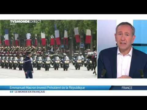 France: Emmanuel Macron investi Président de la République