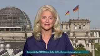 phoenix nachgefragt mit Kristina Dunz zur Nominierung von Ursula von der Leyen am 04.07.19