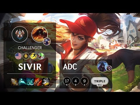 Sivir ADC vs Aphelios - NA Challenger Patch 10.6