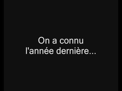 Dany Mauro - Tamiflu (avec les paroles)