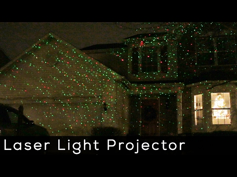 Laser show star pattern outdoor effect light with rf remote - Outdoor laser light show ...