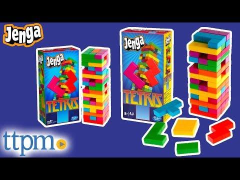 Jenga Tetris From Hasbro Youtube