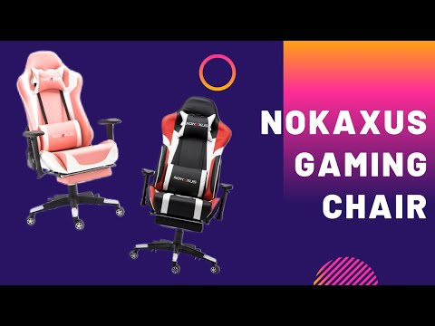 Budget Gaming Chair Under $200 - Nokaxus Gaming Chair