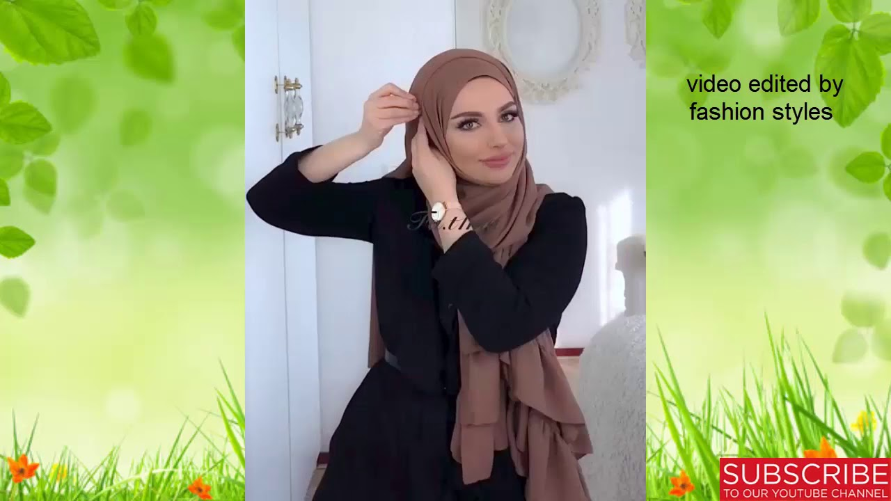 hijab tutorial 2018 for girls || hijab tutorial 2018 for round faces