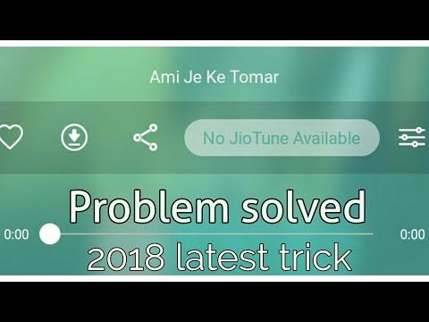No Jio Tune Available Problem Solved Ll Koi Bhi Song KO Jio Caller Tune Me Kaise Set Kare