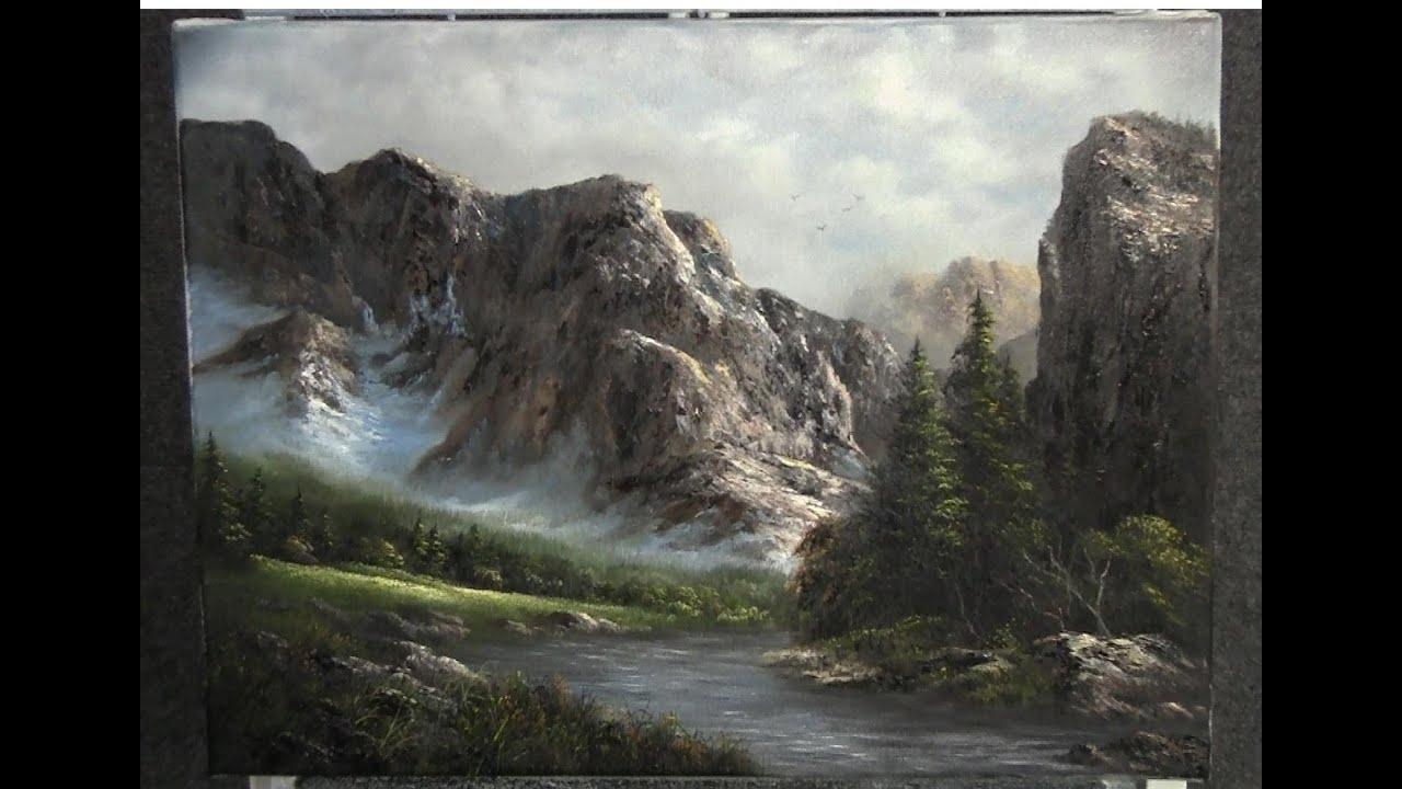 Wet On Wet Watercolor Landscape