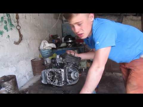 Разборка и сборка двигателя мотоцикла Минск