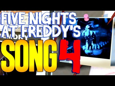 Five Nights At Freddy's 4 SONG 'Dream Your Dream' ANIMATED FNAF 4