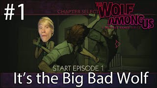Let's Play The Wolf Among Us Episode 1: It's the Big Bad Wolf |PSVITA|