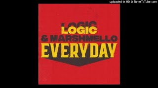 Everyday - Logic & Marshmello ( clean edit) (Best Edit)