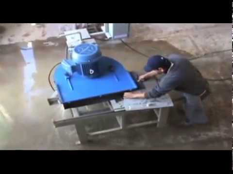 Desdobladora equipo para corte de m rmol y granito con - Como cortar marmol encimera ...