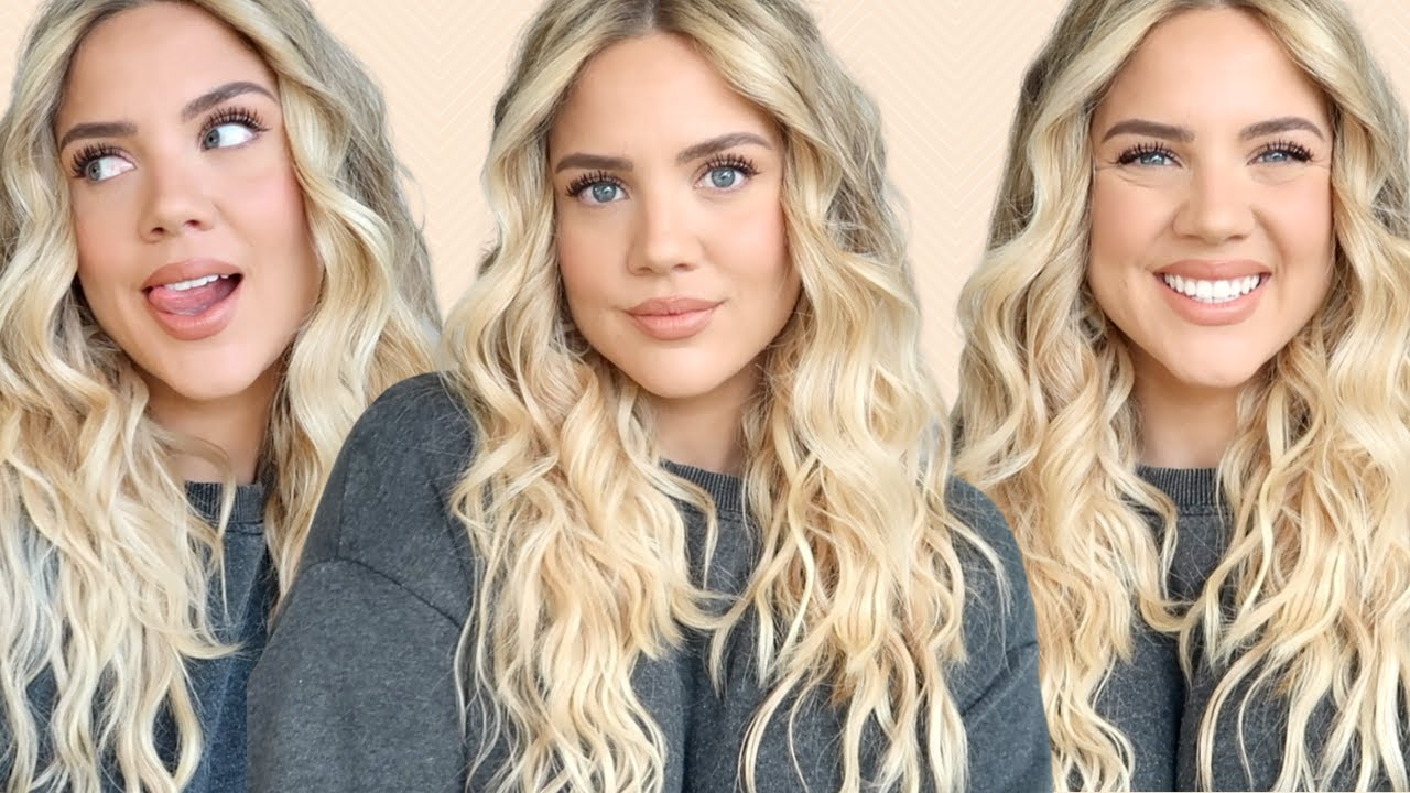 2021 Hair Trends   Wavy Hair Tutorial   Elanna Pecherle 2021