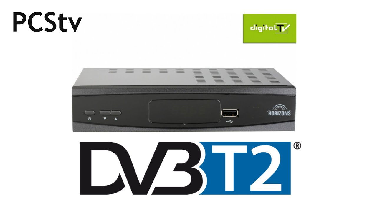 Horizons Dvb T2 Receiver Unboxing I Test Pcstv Youtube