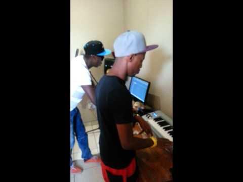 Problem Child Ten83 and Da Capo @ Mofunk Records Studio (Hidden Camera)