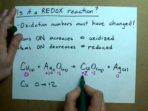 Is it a Redox Reaction?