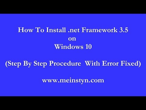 Windows 7/8/10: How To Fix Error Code 0x800f0922 by MDTechVideos