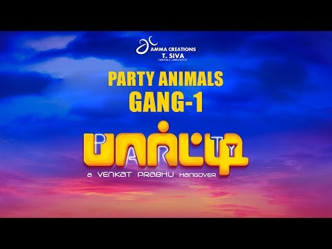 Party Animals Gang - 1 | Venkat Prabhu | Jayaram | Shaam | Ramya Krishnan | Sathyaraj | Premgi | 2K