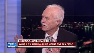 What a tsunami warning means for San Diego