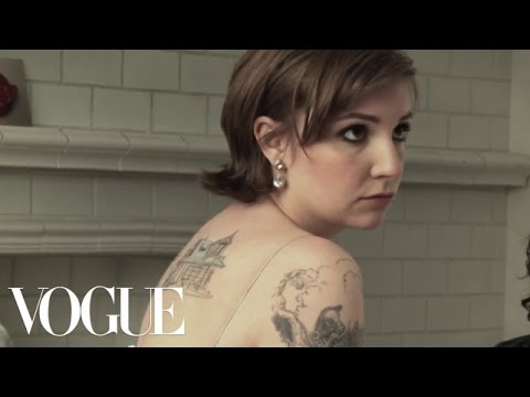 Behind The Scenes Of The Lena Dunham Cover Shoot By Annie Leibovitz - Vogue