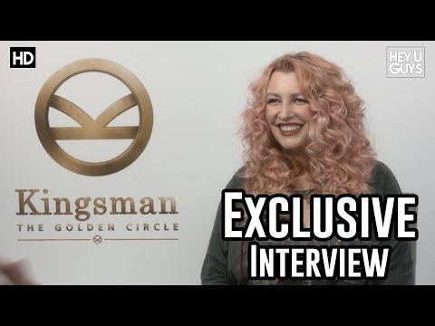 Jane Goldman | Kingsman The Golden Circle Exclusive Interview