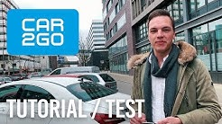 Car2Go Tutorial Test mit Mercedes CLA - Lohnt sich das CarSharing?
