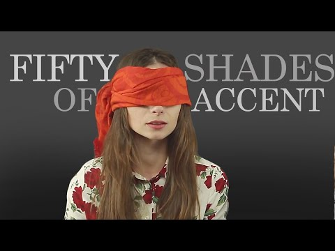 Sexiest Accent for Men: Women React (50 Shades of Grey)