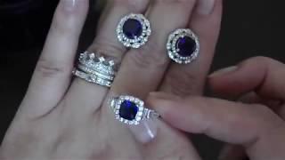 Очень красивые кольца????Обзор колец и сережек #1: Продажа серебра