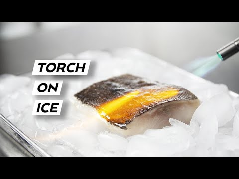 ABURI Technique For BLACK COD - How To Properly Use A Torch To Cook Fish