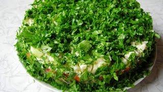 """Слоеный салат с сельдью. Салат """"Селедка под шубой"""" - по-весеннему."""
