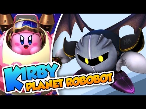 Las aventuras de Meta Knight! | #21 | Kirby Planet Robobot (3DS) en Español