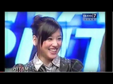Haruka Nakagawa (Eks AKB48 & JKT48) Pertama Kali di Acara Hitam-Putih Trans7
