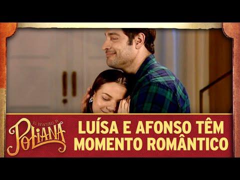 Afonso e Luísa têm momento romântico | As Aventuras de Poliana